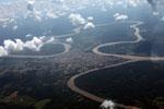 Overhead view of Puerto Maldanado [peru_aerial_0744]