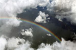 Rainbow over the Amazon