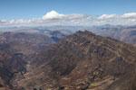 Andean mountain ridge
