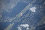 Mountain ridge in the Amazon basin
