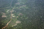 Aerial photo of deforestation in the Peruvian Amazon [peru_aerial_1087]