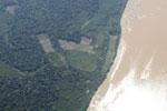 Deforestation along the Rio Tambopata in Peru [peru_aerial_1228]