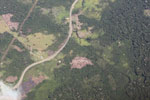 Deforestation along the Transoceanic highway in Peru [peru_aerial_1338]