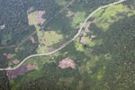 Deforestation along the Transoceanic highway in Peru [peru_aerial_1344]