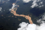 River sedimentation from gold mining in the Peruvian Amazon