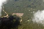 Clear-cutting in the Amazon [peru_aerial_1583]