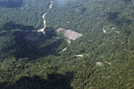Clear-cutting in the Amazon [peru_aerial_1592]