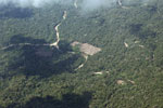 Clear-cutting in the Amazon [peru_aerial_1593]