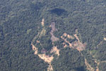 Mining damage in the Amazon [peru_aerial_1618]