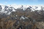 Glacial peaks in the Andes [peru_aerial_1738]