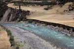 Glacier melt in the Andes