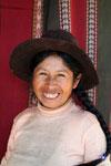 Quechua weaver woman