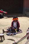 Weavers at Ayllunchispa Taqin [wayquecha-andes_0760]