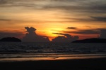 Sunset on a beach in Kota Kinabalu -- sabah_0096