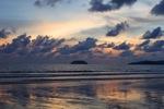 Sunset on a beach in Kota Kinabalu -- sabah_0112