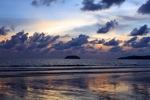 Sunset on a beach in Kota Kinabalu -- sabah_0113