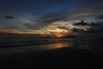 Sunset on a beach in Kota Kinabalu -- sabah_0118