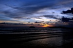 Sunset on a beach in Kota Kinabalu -- sabah_0120
