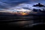 Sunset on a beach in Kota Kinabalu -- sabah_0121