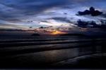 Sunset on a beach in Kota Kinabalu -- sabah_0122