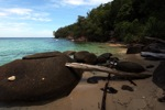 Sapi Island beach -- sabah_0186