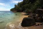 Sapi Island beach -- sabah_0192