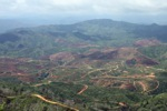 Deforestation for oil palm -- sabah_0663