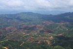 Deforestation for oil palm -- sabah_0664