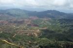 Deforestation for oil palm -- sabah_0665