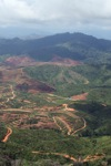 Deforestation for oil palm -- sabah_0671