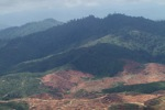 Deforestation for oil palm -- sabah_1214