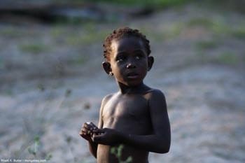 Gabonese child