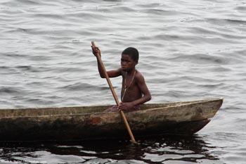 Gabonese boy