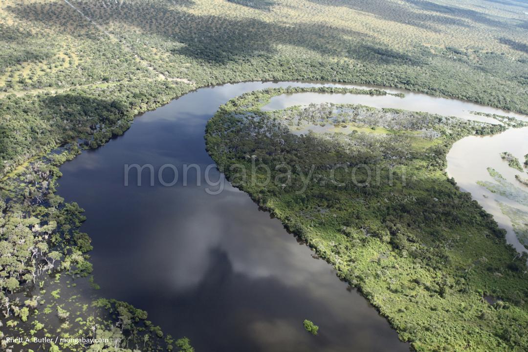 Fluss in Brasilien