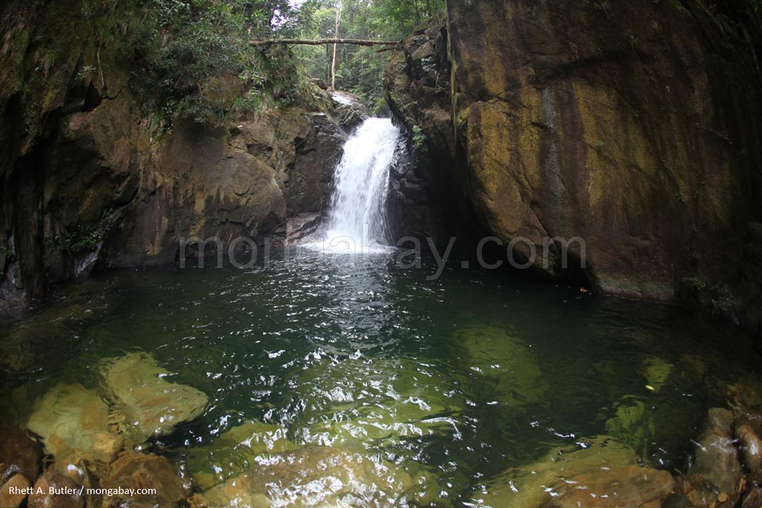 Wasserfall in Kalimantan