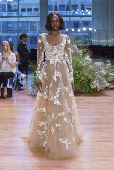 Monique lhuillier bridal ss17 1920