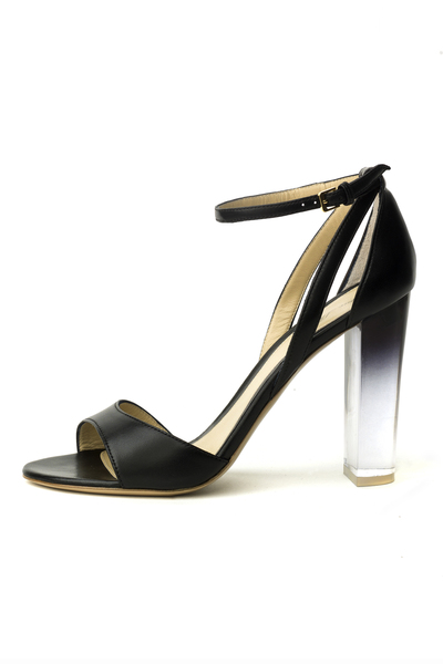 Monique Lhuillier Pearl Detail Stiletto Sandals NOIR p Dv MY4gv