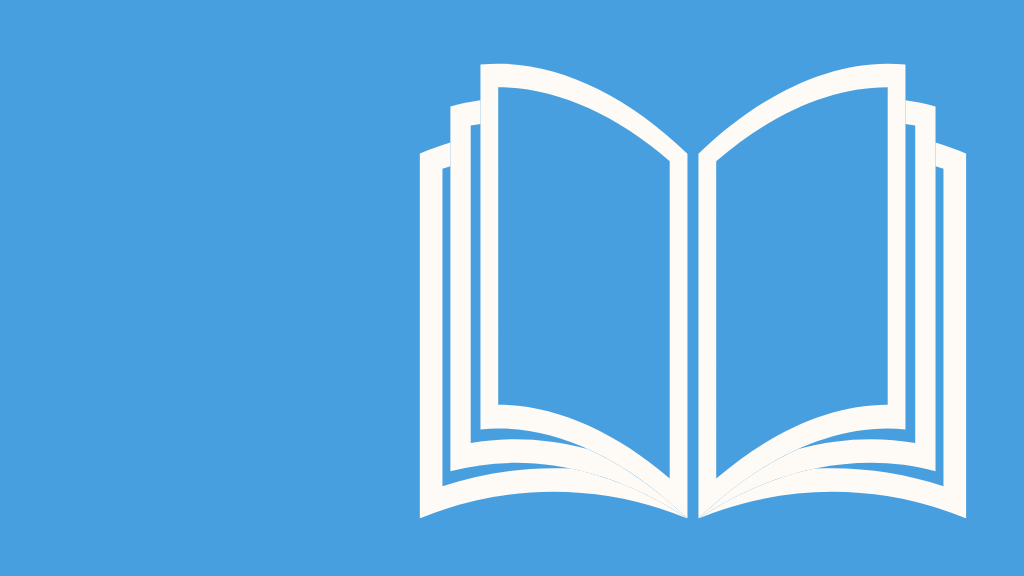 graphic of an open book