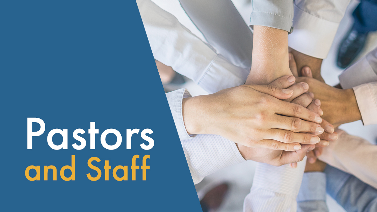 graphic: Pastors & Staff