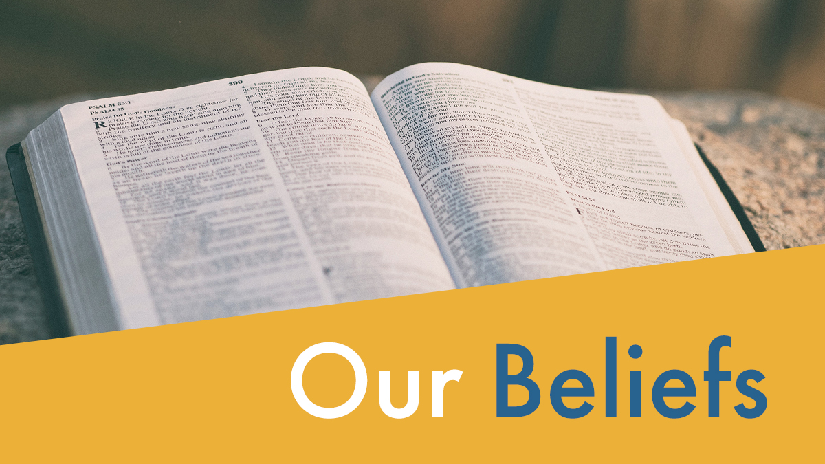 graphic: Our Beliefs
