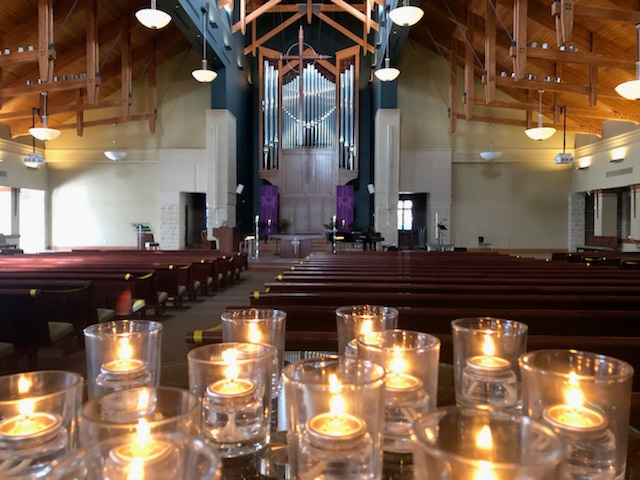 photo: Sanctuary for the Healing Prayer Service