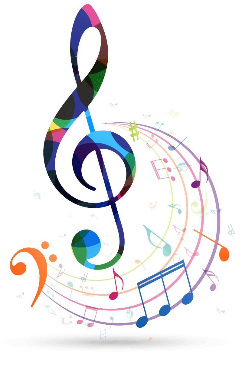 graphic: treble clef