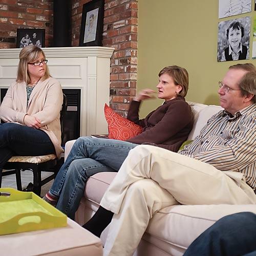 photo: small group gathering