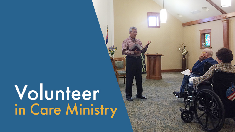 graphic: Volunteer in Care Ministry