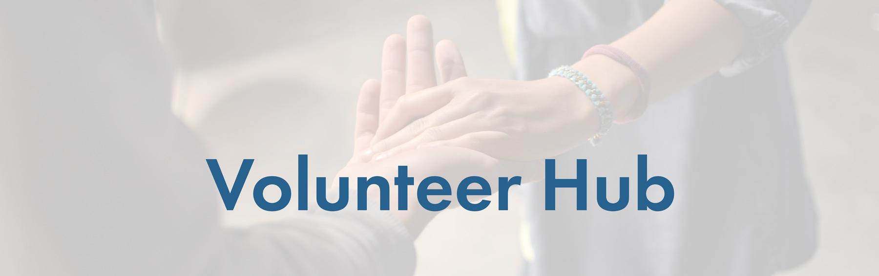 graphic: Volunteer Hub