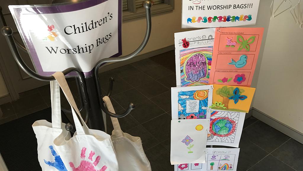 CE Children's Worship Bags