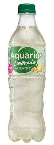 Aquarius Cero Limonada y Jengibre