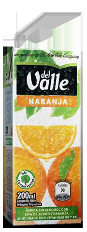 Del Valle Naranja