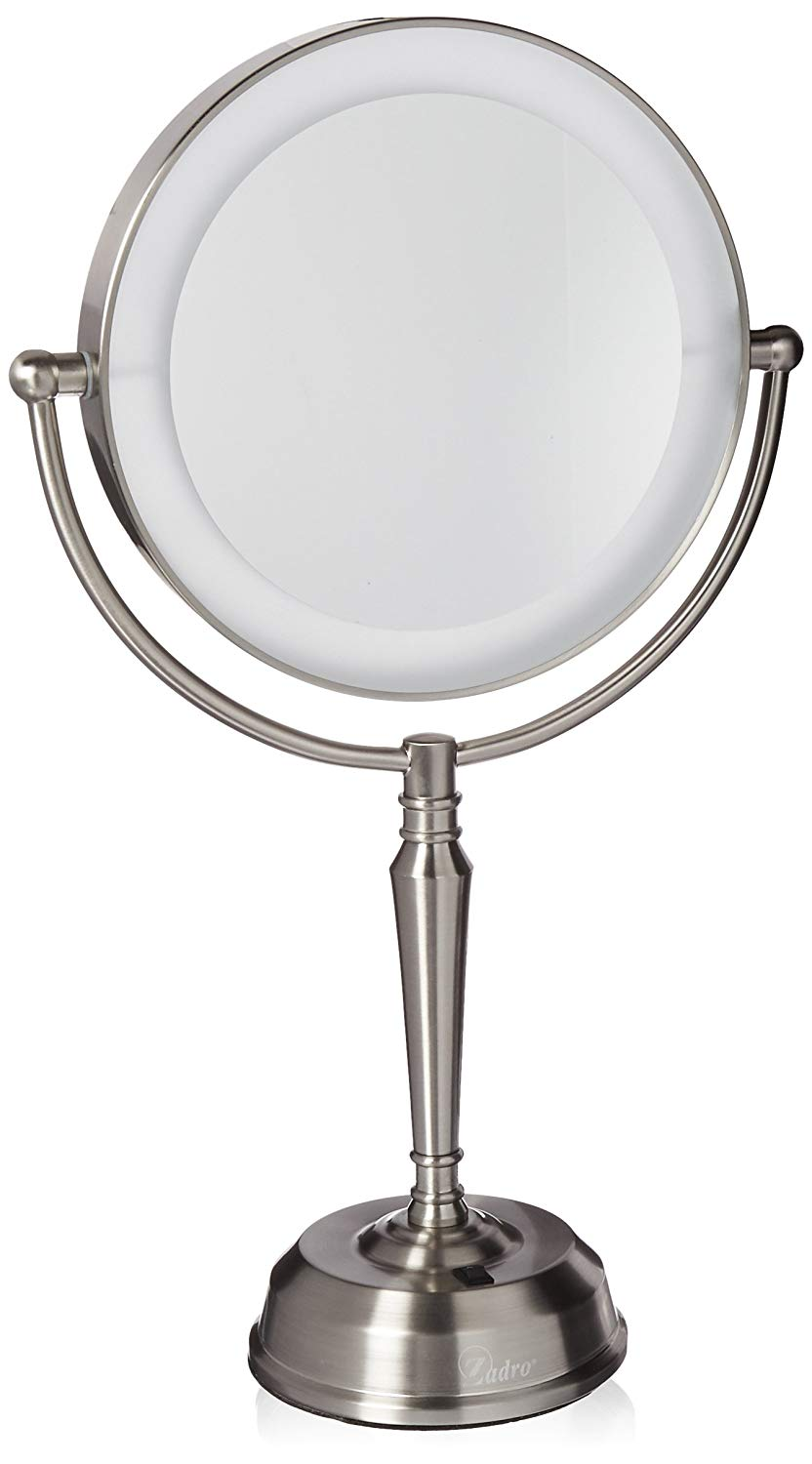 Zadro Lighted Makeup Mirror.Details About Zadro 10x 1x Led Lighted Vanity Makeup Mirror W Rechargeable Battery Usb Port
