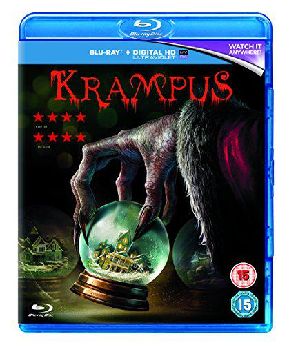 Krampus [Blu-ray] [2015], New, DVD, FREE & FAST Delivery
